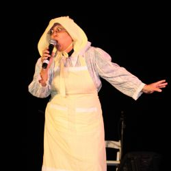 "Virginia ""Auntie V"" Foster delights audiences with her Anansi stories"
