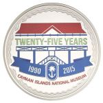 Silver coin celebrates National Museum's 25th year