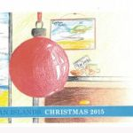 Student-designed holiday stamps issued