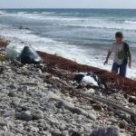 Students help clean up Brac beaches