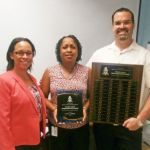 Probation officers awarded for service