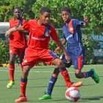 Young footballers gain experience in Las Vegas