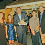 Prince Edward presents CCMI award to Cayman attorney