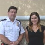 Caymanian student spends Easter break with cops