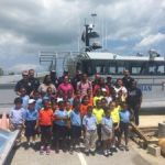 Bodden Town Primary students visit marine unit