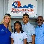 Donation for young Caymanian future pilots