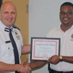Prison Service officer earns top employee award