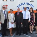 Heart charity presents ambulance to HSA