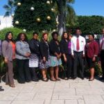Judicial Administration employees study management