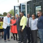 Couple donates bus to Cayman Academy