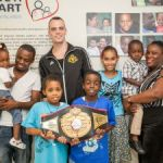 Canadian boxer pledges support for Have a Heart