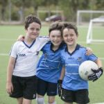 Kids come out for Gaelic football