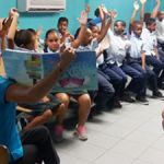 Sister Islands start off Child Month with reading day