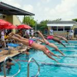 Sprint meet attracts record number of swimmers