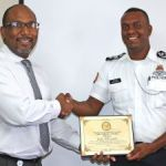 Police officer recognised for contributions to RCIPS