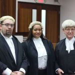 Allyson Speirs called to the bar
