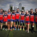Men's touch rugby team takes NY tourney
