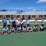 Brac students served up tennis lessons