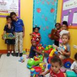 Young brothers donate their toys for Christmas