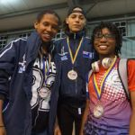 Boxers take three gold at championships