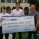 St Ignatius investment duo takes November prize