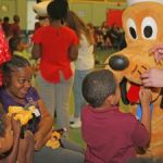 Lighthouse students enjoy a Disney treat
