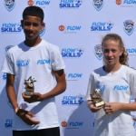 Two young footballers earn trip to Trinidad