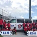Young footballers get new ride