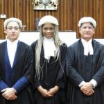 Appolina Bent called to the bar