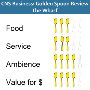 Golden Spoons Review for The Wharf