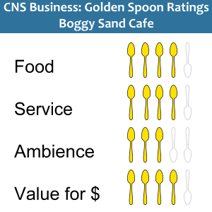 Golden Spoons ratings Boggy Sand Cafe