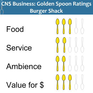 Golden Spoons ratings Burger Shack