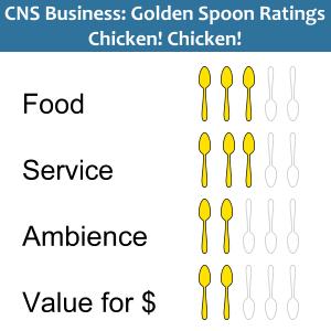 Golden Spoons ratings Chicken! Chicken!