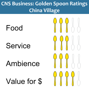 Golden Spoons ratings China Village