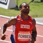 Forbes comes up short in the hurdles
