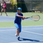 Tennis tournament not dampened by rain