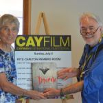 Show goes on with a shortened CayFilm