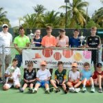 Top juniors compete in tennis invitational
