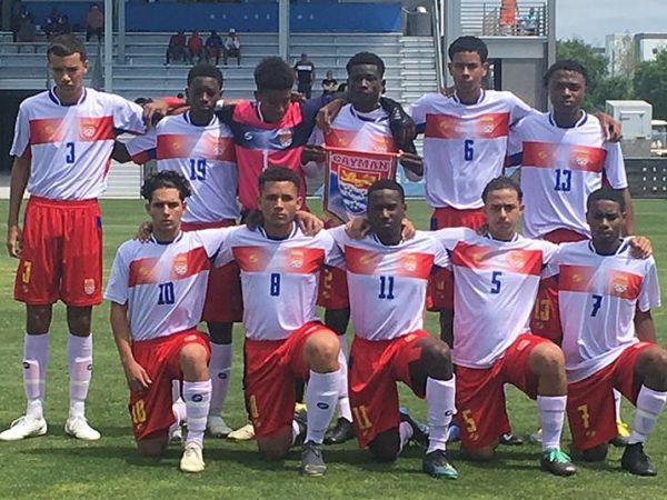 CI U17 boys vs Nicaragua