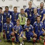 Academy U12 team takes gold in Miami