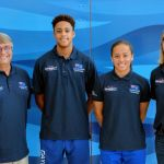 Cayman's swimmers at world championships