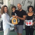 Cayman Heart Fund donates AED to Boxing Association