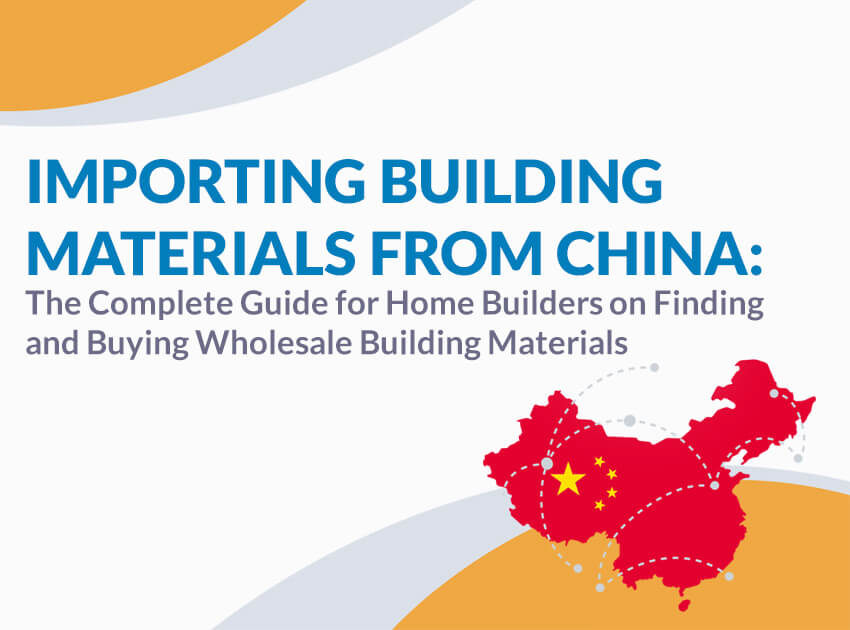Importing Building Materials From China | importing construction
