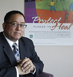Deacon Bernard Nojadera, director of the U.S. bishops' Secretariat of Child and Youth Protection. (CNS file/Bob Roller)