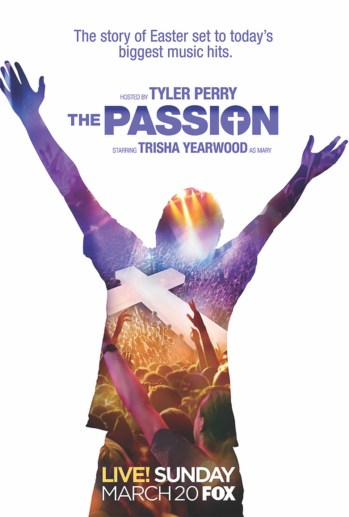"""Poster from """"The Passion,"""" a two-hour, live musical event being broadcast by Fox from New Orleans on Palm Sunday, March 20. (CNS/courtesy Clarion Herald)"""