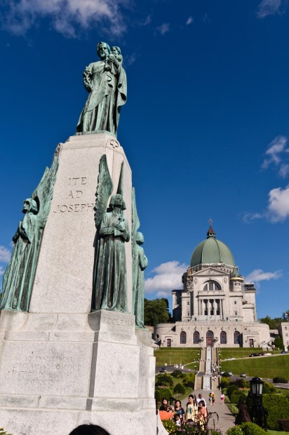 St. Joseph Oratory in Montreal in a 2010 file photo. (CNS/Bob Mullen)