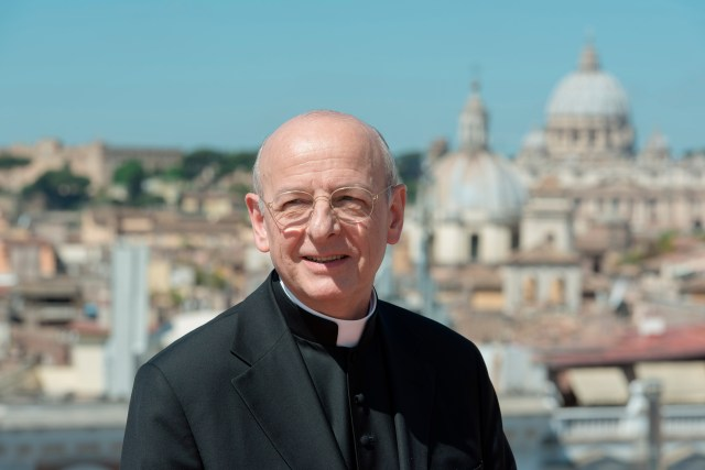 Spanish Msgr. Fernando Ocariz, pictured in Rome in 2016, was elected Jan. 23 as the new head of the prelature of Opus Dei. (CNS/courtesy of Opus Dei)
