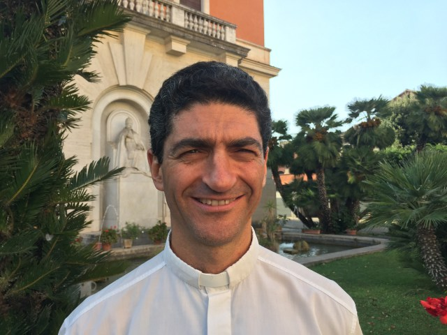 "Father Augusto Zampini Davies, from Argentina, works at the Vatican Dicastery for Promoting Integral Human Development, where he focuses on ""integral ecology,"" which includes development, the environment and spirituality. (CNS/Cindy Wooden)"