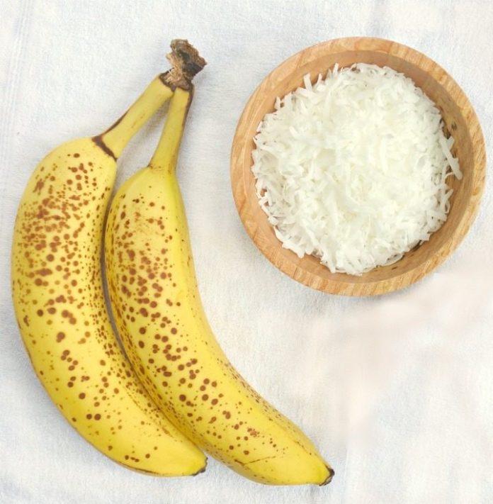 Banana and Coconut shavings