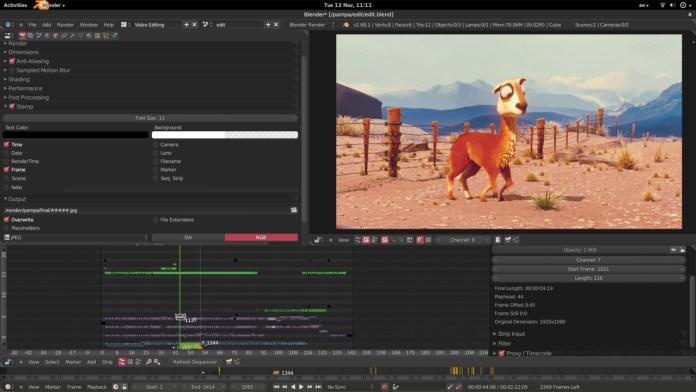 Blender Movie Editor